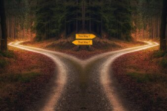Decision, Path, Signpost, Crossing, Chance, Choice